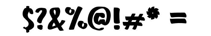 Sunday Hawaii Plain Regular Font OTHER CHARS