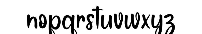 Sunday Work Font LOWERCASE
