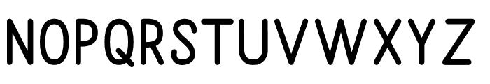 Sunderlines Sans Font UPPERCASE