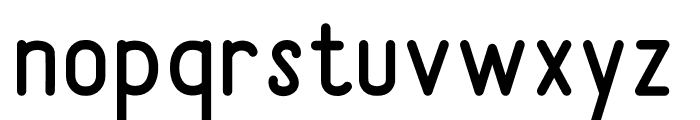 Sunderlines Sans Font LOWERCASE
