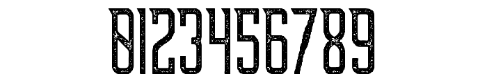 Supata-Letterpress Font OTHER CHARS