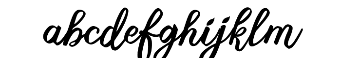 Sweet Delights Font LOWERCASE