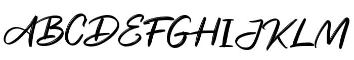 Sweet Garnish Font UPPERCASE