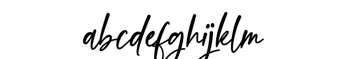 Sweet Meredith Font LOWERCASE