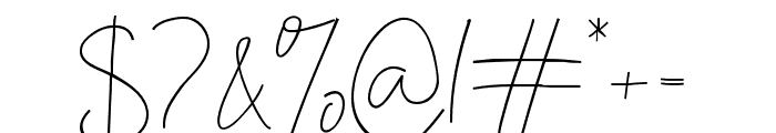 SweetBlush Font OTHER CHARS