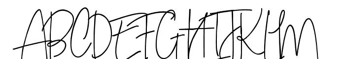 SweetBlush Font UPPERCASE