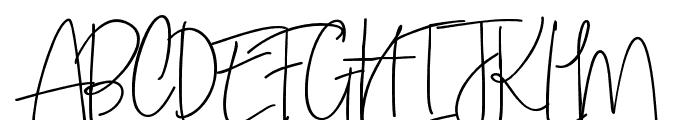 SweetBlushAlt Font UPPERCASE