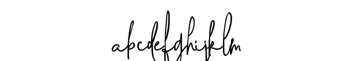SweetBlushAlt Font LOWERCASE