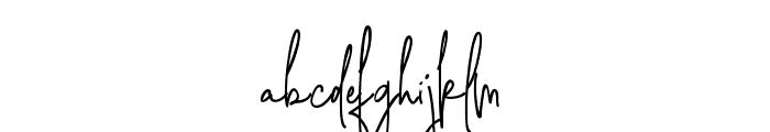 SweetBlush Font LOWERCASE