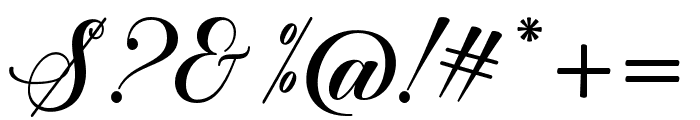 SweetChildScript Font OTHER CHARS