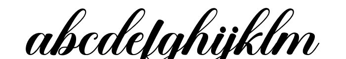 SweetChildScript Font LOWERCASE