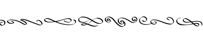 SweetDelights Swash Font LOWERCASE