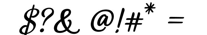 SweetHomeSavannah-Bold Font OTHER CHARS