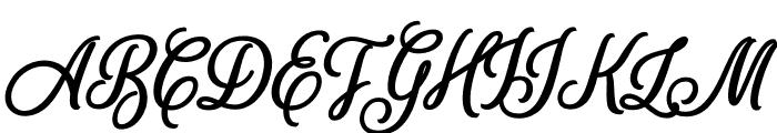 SweetHomeSavannah-Bold Font UPPERCASE