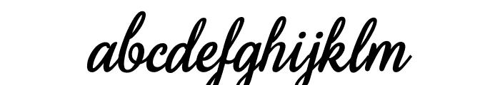 SweetHomeSavannah-Bold Font LOWERCASE