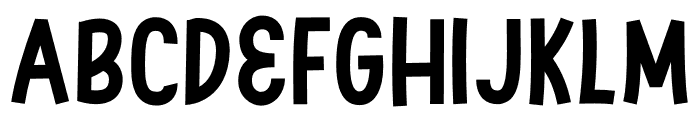 Swingsnug Bold Font UPPERCASE