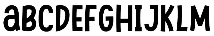 Swingsnug Bold Font LOWERCASE