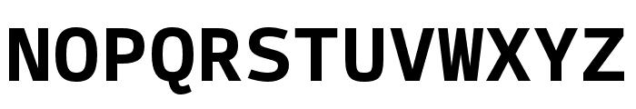 SykeMono-Bold Font UPPERCASE
