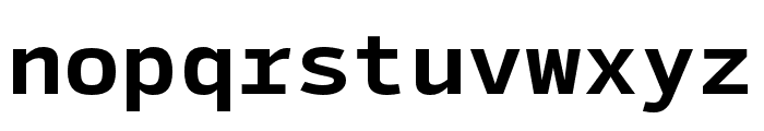 SykeMono-Bold Font LOWERCASE