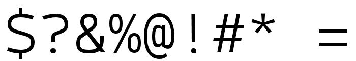 SykeMono-Light Font OTHER CHARS