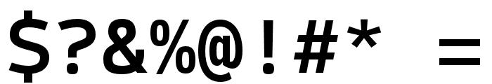 SykeMono-Medium Font OTHER CHARS
