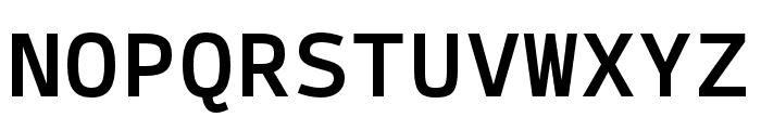 SykeMono-Medium Font UPPERCASE