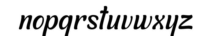 Symphony Italic Font LOWERCASE
