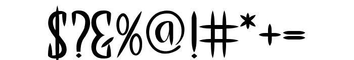 THE LAST KINGDOM Font OTHER CHARS
