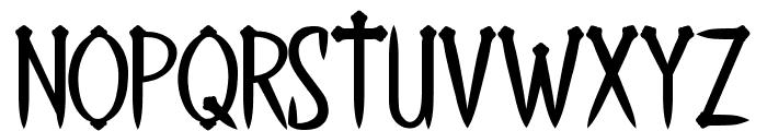 THE LAST KINGDOM Font UPPERCASE