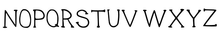 THINK Regular Font UPPERCASE