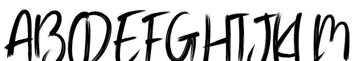 TRAGEDYE Font UPPERCASE