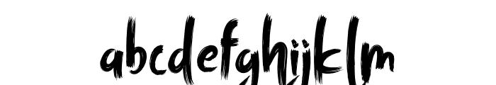 TRAGEDYE Font LOWERCASE