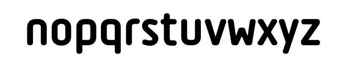 Tadao-ExtraBold Font LOWERCASE