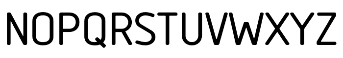 Tadao-Medium Font UPPERCASE