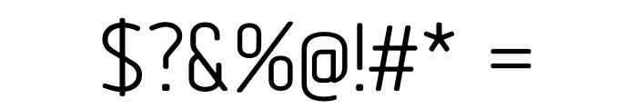 Tadao-Regular Font OTHER CHARS