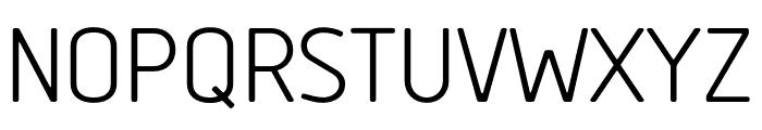 Tadao-Regular Font UPPERCASE