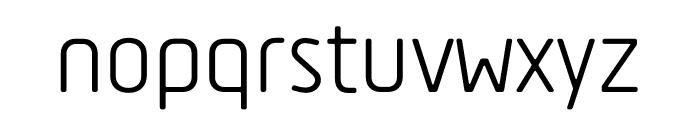 Tadao-Regular Font LOWERCASE