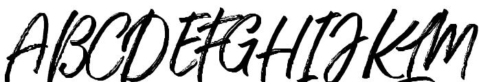TakeEasy Font UPPERCASE