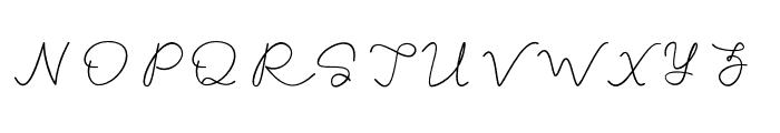 Talitha Font UPPERCASE