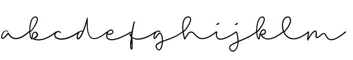 Talitha Font LOWERCASE