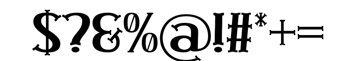 Tangle Love Font OTHER CHARS