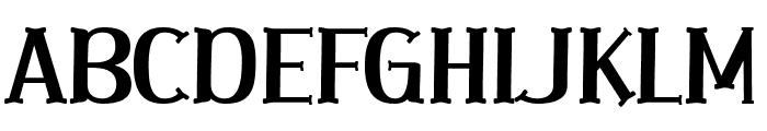 Tangle Love Font UPPERCASE