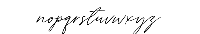 Tantinotes Font LOWERCASE