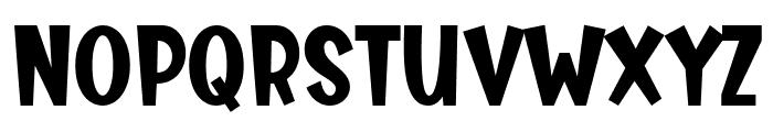 Tasty Bready Font UPPERCASE