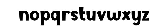 Tasty Bready Font LOWERCASE