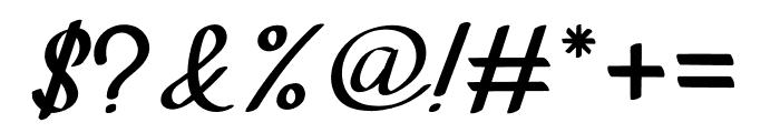 Tavisha Font OTHER CHARS
