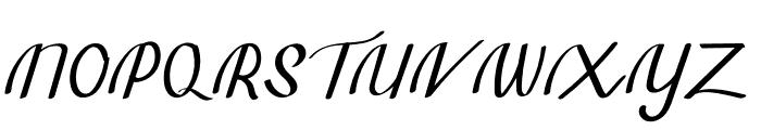 Tavisha Font UPPERCASE