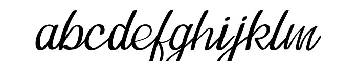 Tavisha Font LOWERCASE