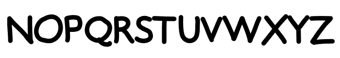 TeaTime Font UPPERCASE