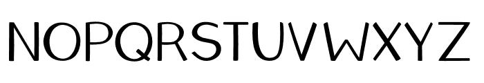 Teacher's Pet Font UPPERCASE